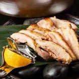 赤鶏もも炭火焼き ~九州産赤鳥塩麹漬け~