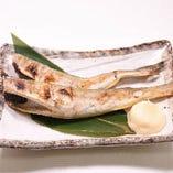 氷下魚の魚醤焼き(北海道産)
