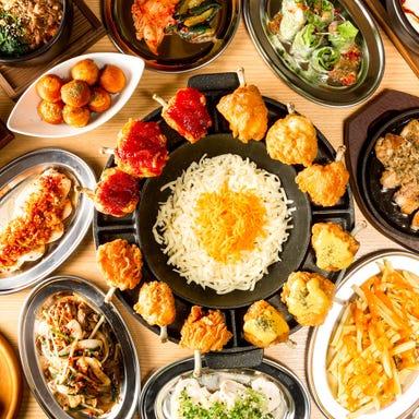 韓国料理×チーズ チカポチャ 小倉駅前店 こだわりの画像