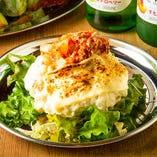 キムチチーズポテトサラダ