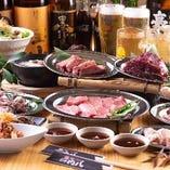 【本格焼肉!】肉八の食べ放題2,480円宴会、飲み会にぜひ