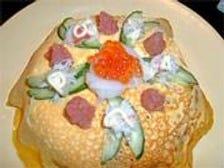寿司久の*すしケーキ*
