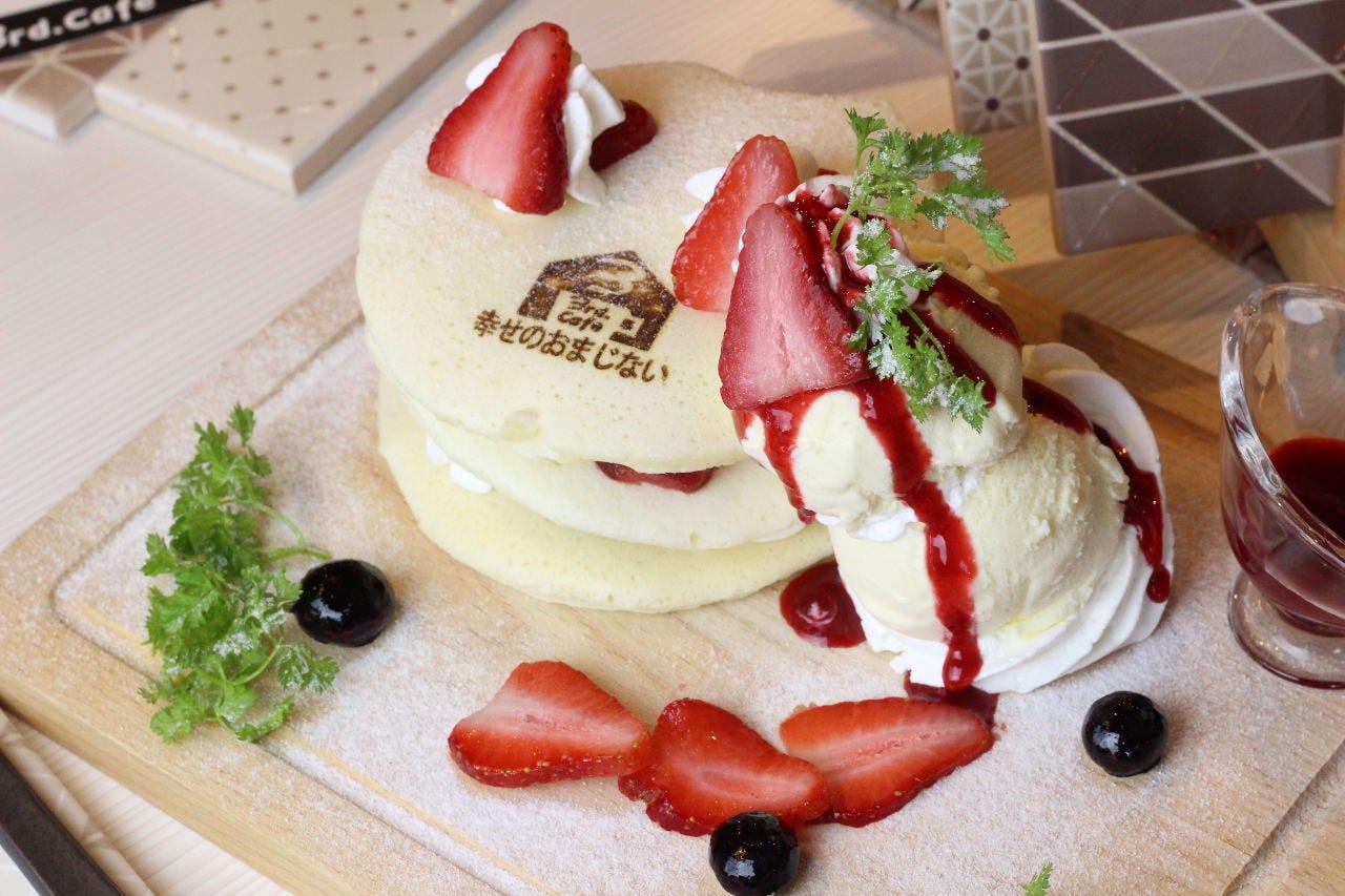 フォトジェニックな美しいパンケーキ