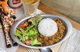 雑穀米のキーマカレー