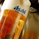 おいしい生ビールです!