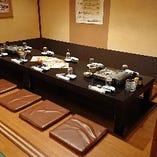 個室は会社宴会はもちろん、お子様連れでのお食事にも最適◎