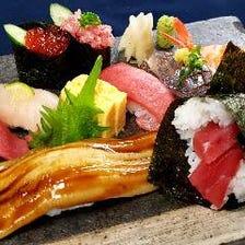 三崎港・長井港鮮魚握り寿司