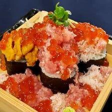 北海こぼれ寿司