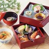 【平日限定ランチ弁当】  京弁当茶碗蒸し付き  10月以降は消費税増税分金額が変わります。