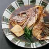 鯛かぶと煮