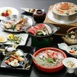 東京で京都屈指の老舗料亭の味を堪能する月替り懐石コースを多彩にご用意