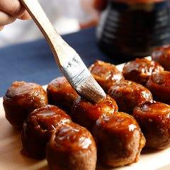 北海道限定!毎朝手作り♪『牛屋江戸八の肉むすび』