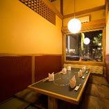 江戸八の『窓辺の個室』