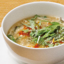 Lei can ting オリジナル野菜たっぷり酸辣湯
