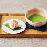 小さなビーガンおやつとお茶のお得なセット 880円(税抜)