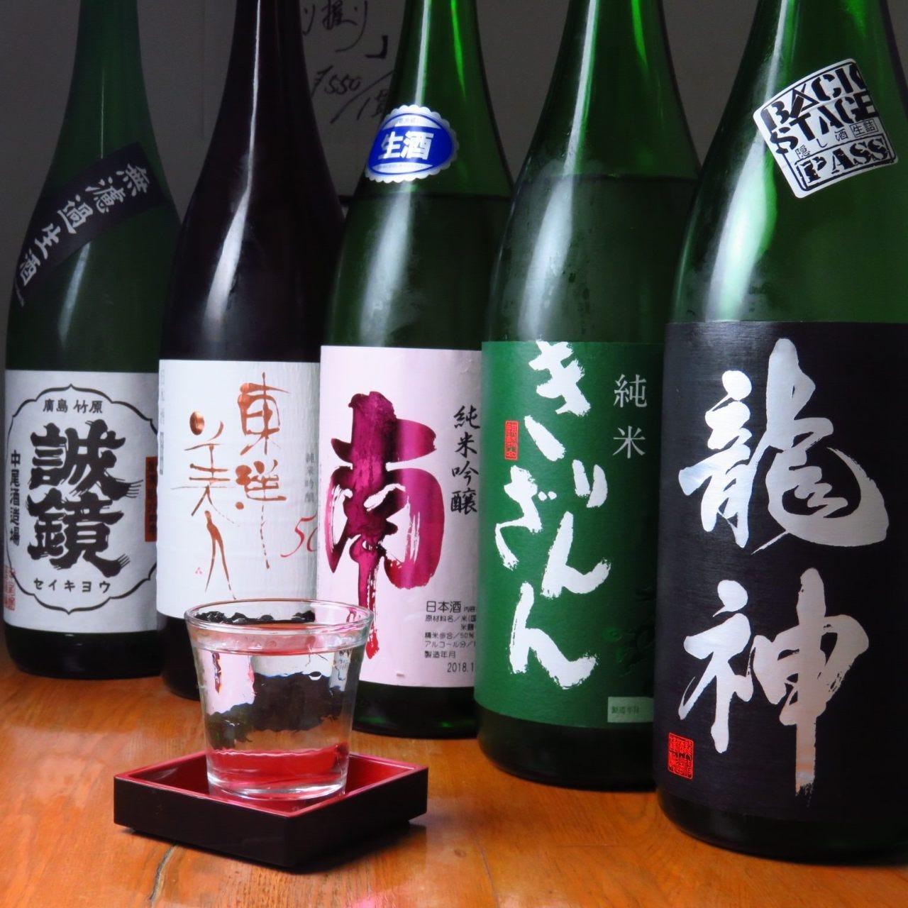 肉との相性も抜群の日本酒