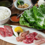 ランチタイムは、新鮮なお肉をいっそうお得に楽しめます!