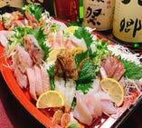【金額やご希望に応じて承ります】 《要予約》日本海の海の恵みたっぷり!『刺身の舟盛り』3,000円~