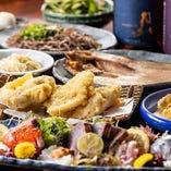 自慢ののどぐろや鮮魚の刺身が楽しめる2H飲放付コースは¥3,00…