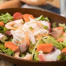 BACU風!海鮮サラダ