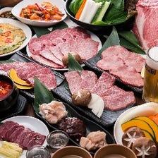 焼肉も韓国料理も食べ飲み放題!