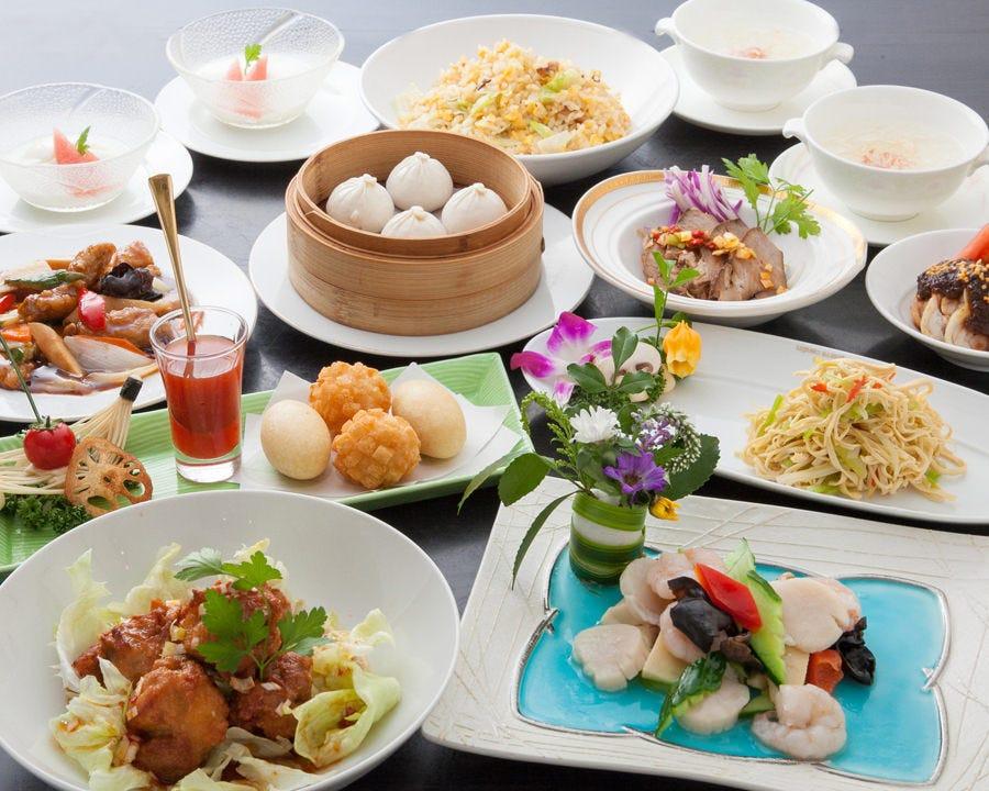 中国王宮海鮮料理オーダーバイキング