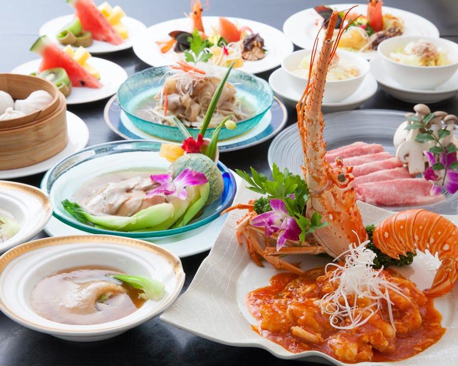 中国王宮海鮮料理でおもてなし