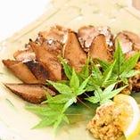 鹿児島 豚タンの西京焼