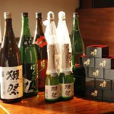 銘柄プレミアム日本酒をご用意♪