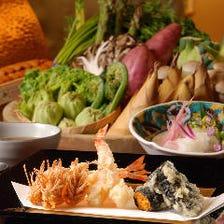 旬の魚介に京野菜…吟味を重ねた素材