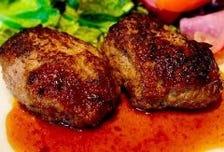 【10食限定】黒牛と茶味豚の自家製ハンバーグ ※予約不可