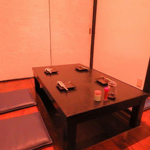 ◆掘りごたつ席【半個室】あります!