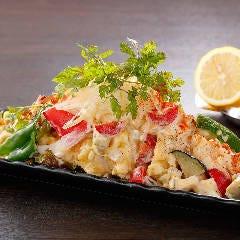 【播州百日鶏(揚)】サラダチキン南蛮