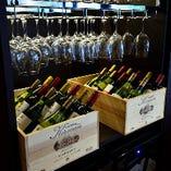 飲み比べは『ワインビュッフェ』でお楽しみください♪