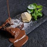 ビターチョコレートブラウニー