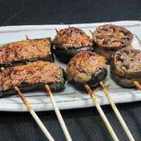 肉詰め串焼き