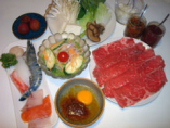 台湾式しゃぶしゃぶ定食¥2600円から3600円まで