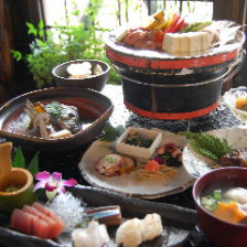 再会 女子会 プチ歓迎会 記念日 に 食物祭! 彩り野菜のお料理と一押しのホオバ焼 竹コース 9品