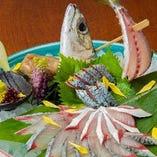 恵比寿鯖の活き造り