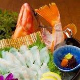 【糸島産】生け簀に泳ぎ回る活魚!