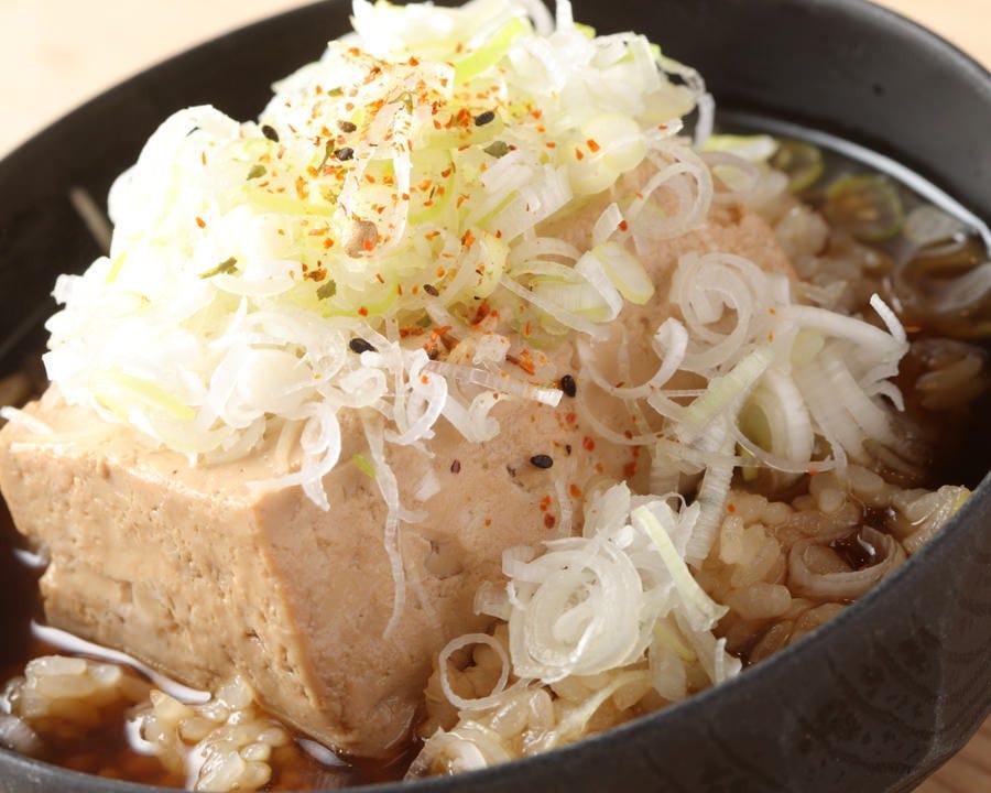 名物 豆腐茶飯