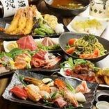 食べ飲み放題は2,800円~(税抜)ご宴会にも最適なコースです♪