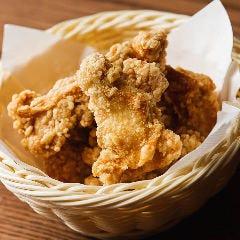 阿波乙女鶏の唐揚