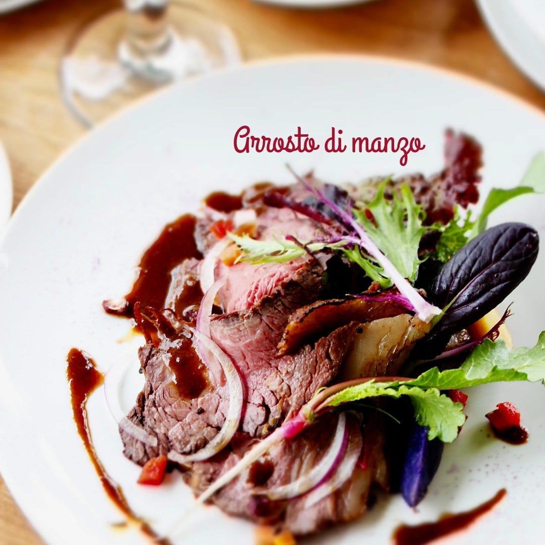 <お肉料理> 4種のBコースはお肉、お魚料理が選べます!