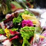 「野菜のブーケ」色とりどりの季節野菜がたっぷり!