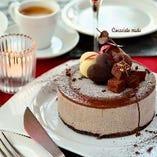 イタリア産生チョコティラミスのセミフレッド