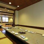全部で13部屋ある個室は2~60名様まで幅広くご利用可能です