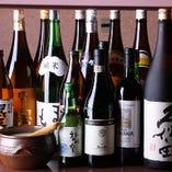 店長厳選の日本酒やワインを多数取り揃えております