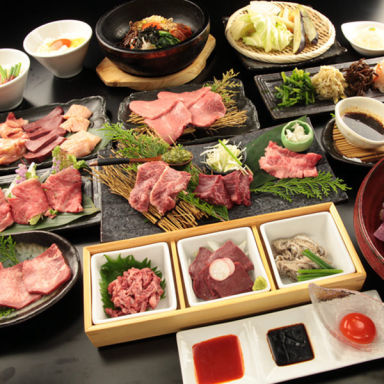肉匠 牛虎 西中島店 コースの画像