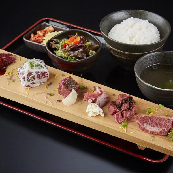 『肉匠 牛虎』の贅沢お肉ランチ